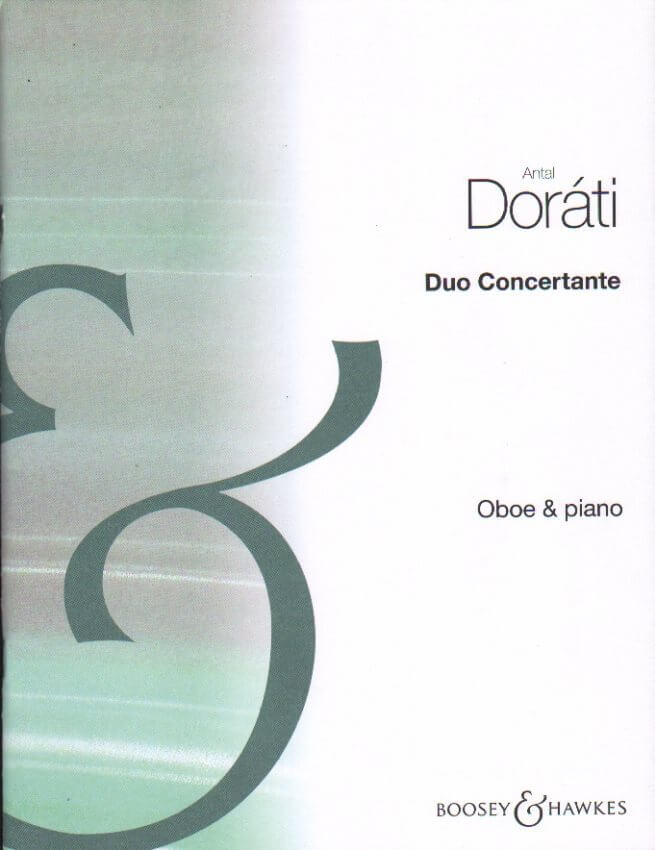 Duo Concertante - Oboe and Piano
