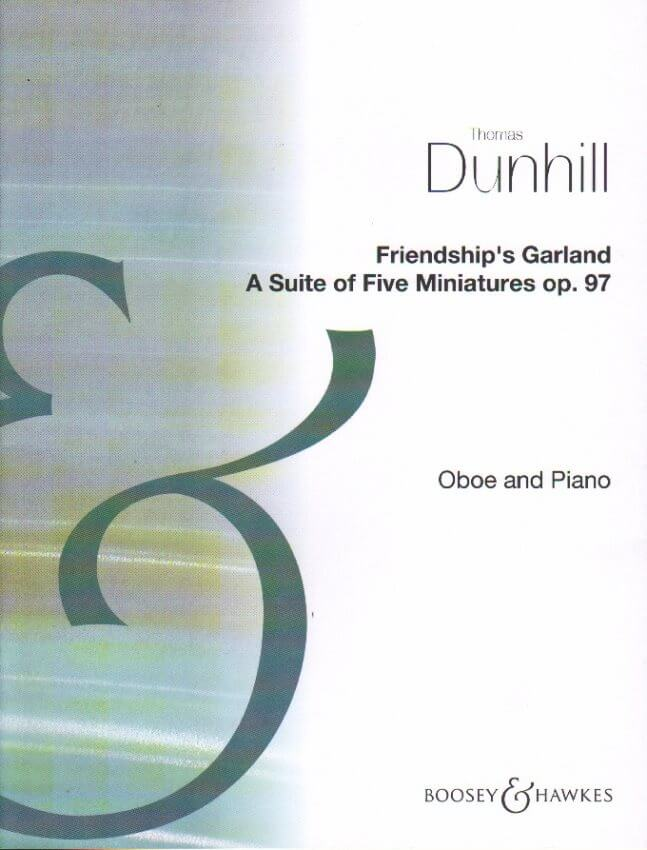 Friendship's Garland : A Suite of 5 Miniatures Op. 97 - Oboe and Piano