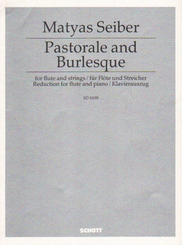 Pastorale and Burlesque - Flute and Piano