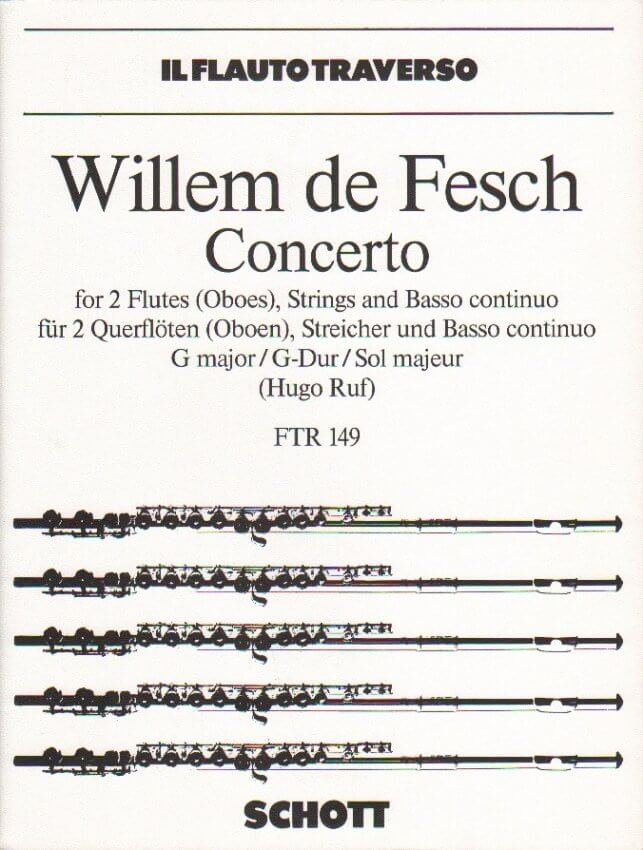 Concerto in G Major, Op. 10, No. 8 - Flute (or Oboe) Duet and Piano