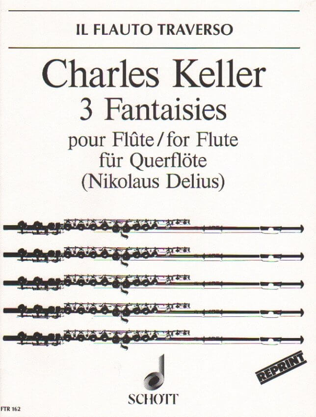 3 Fantaisies, Op. 51 - Flute Unaccompanied
