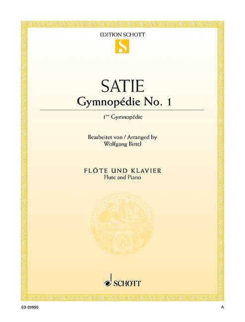 Gymnopedie No. 1 - Flute and Piano