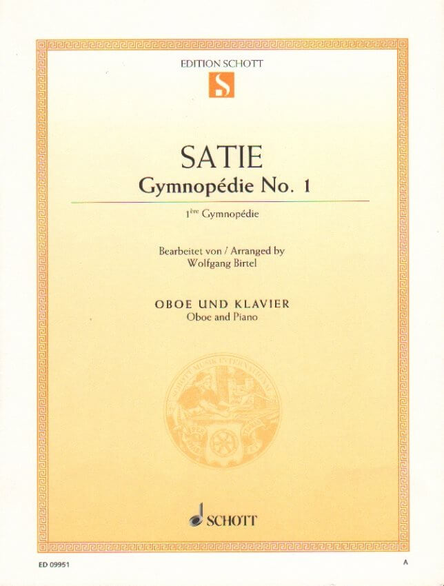 Gymnopedie No. 1 - Oboe and Piano