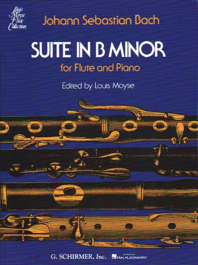Suite in B Minor, BWV 1067 - Flute and Piano