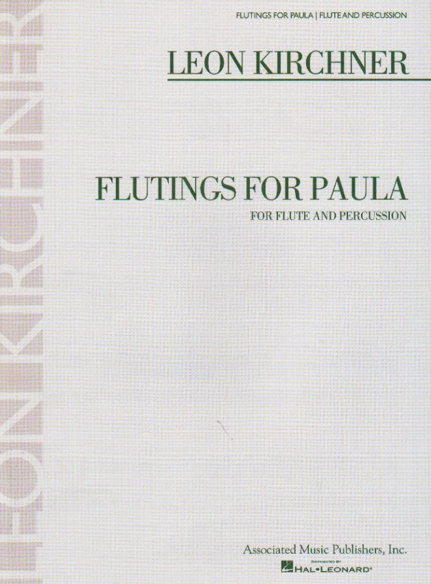 Flutings for Paula - Flute and Percussion
