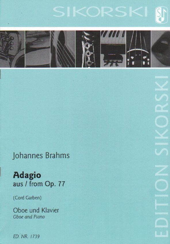 Adagio from Op. 77 - Oboe and Piano