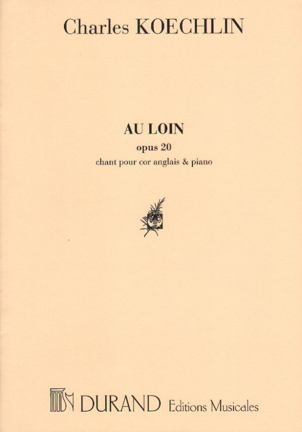Au Loin Op. 20 -  English Horn and Piano