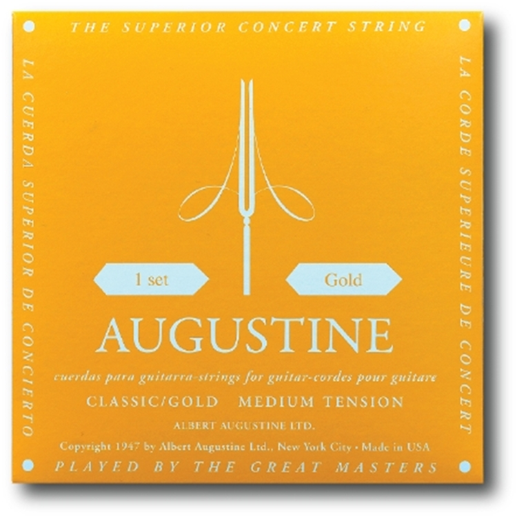 Augustine Classic Gold Set Classical Guitar Strings