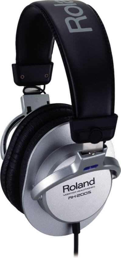 Roland RH-200S Stereo Headphones Silver