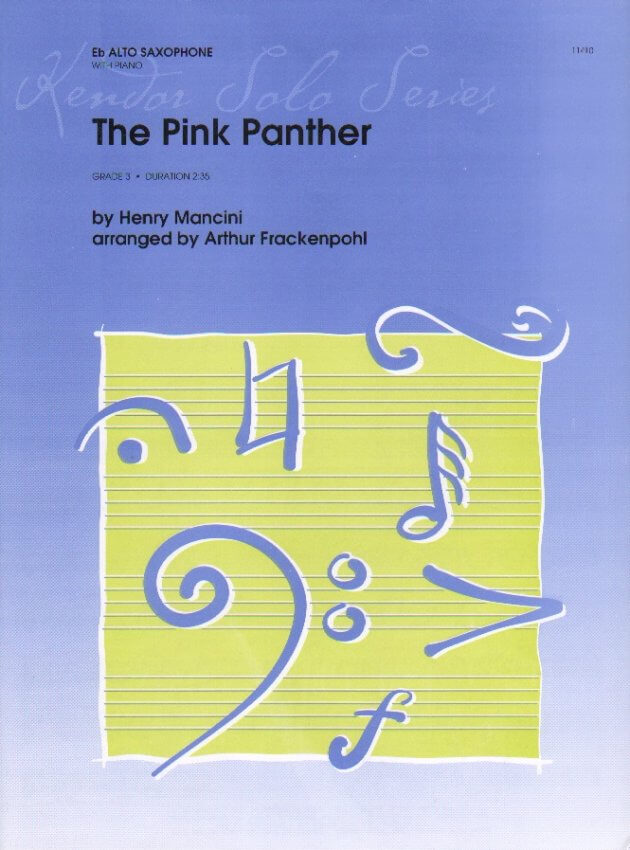 Pink Panther - Alto Sax and Piano