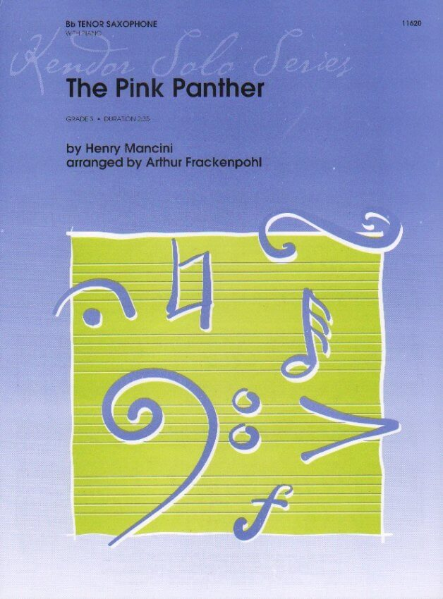 Pink Panther - Tenor Sax and Piano