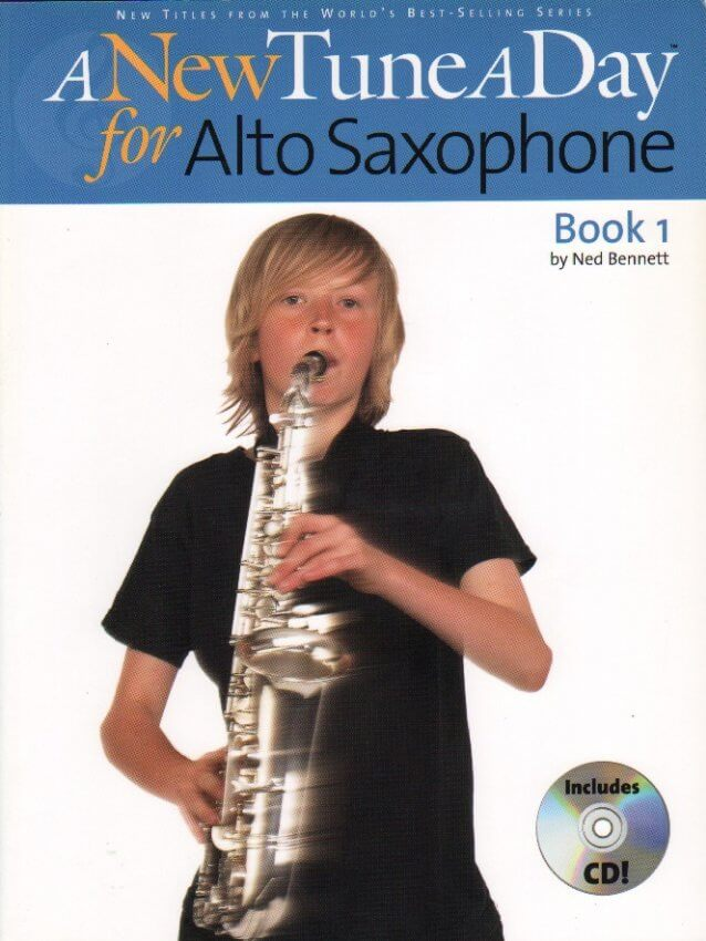 New Tune a Day, Book 1 (Bk/CD) - Alto Sax