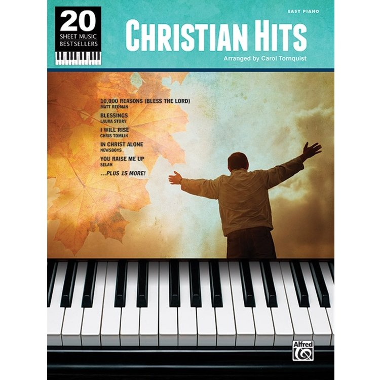 20 Sheet Music Bestsellers: Christian Hits - Easy Piano