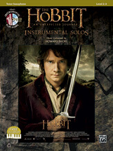 Hobbit, The: An Unexpected Journey (Book/CD) - Tenor Sax