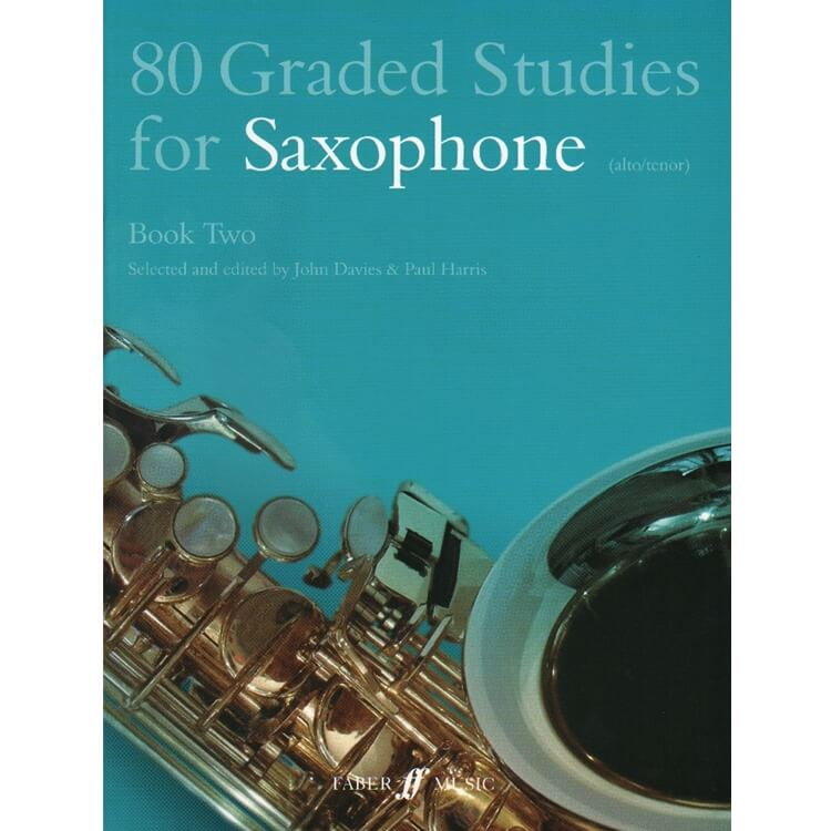 80 Graded Studies for Saxophone (Alto or Tenor), Book Two