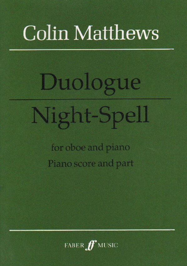 Duologue and Night-Spell - Oboe and Piano
