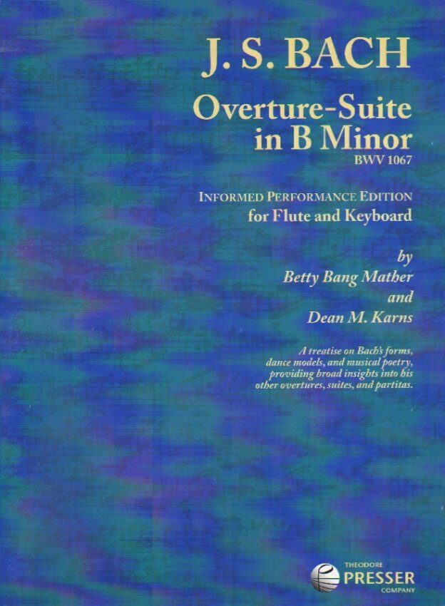 Overture-Suite in B Minor, BWV 1067 - Flute and Piano