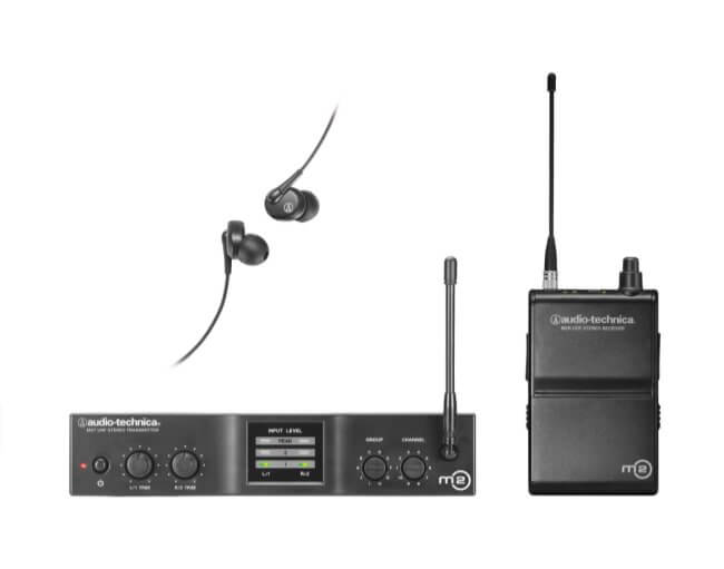 Audio-Technica M2M Wireless In-Ear Monitor System
