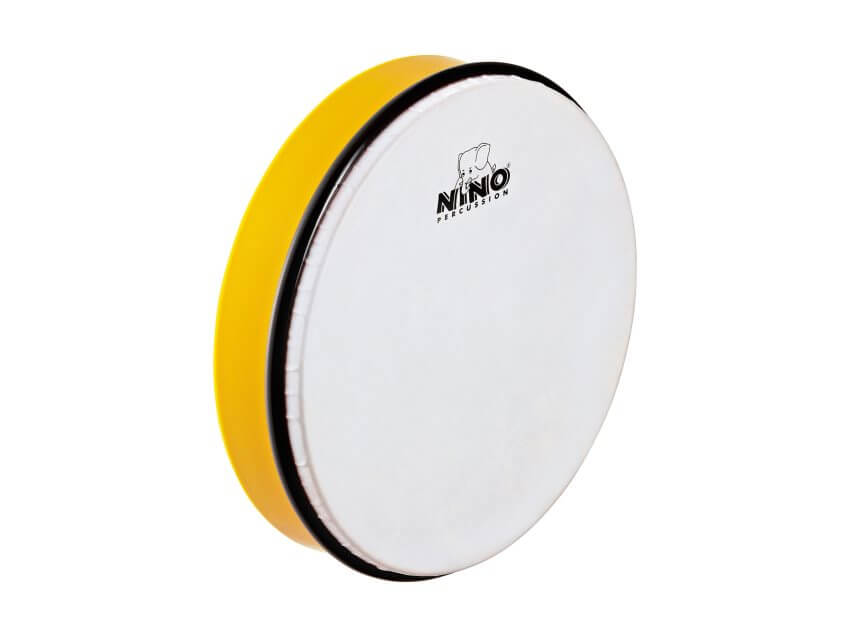 "NINO ABS 10"" Hand Drum Yellow"