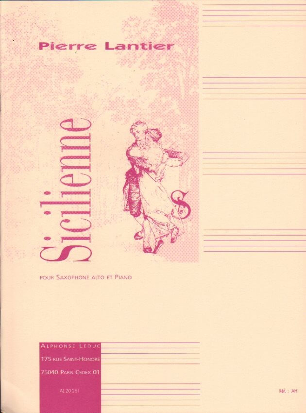 Sicilienne - Alto Sax and Piano