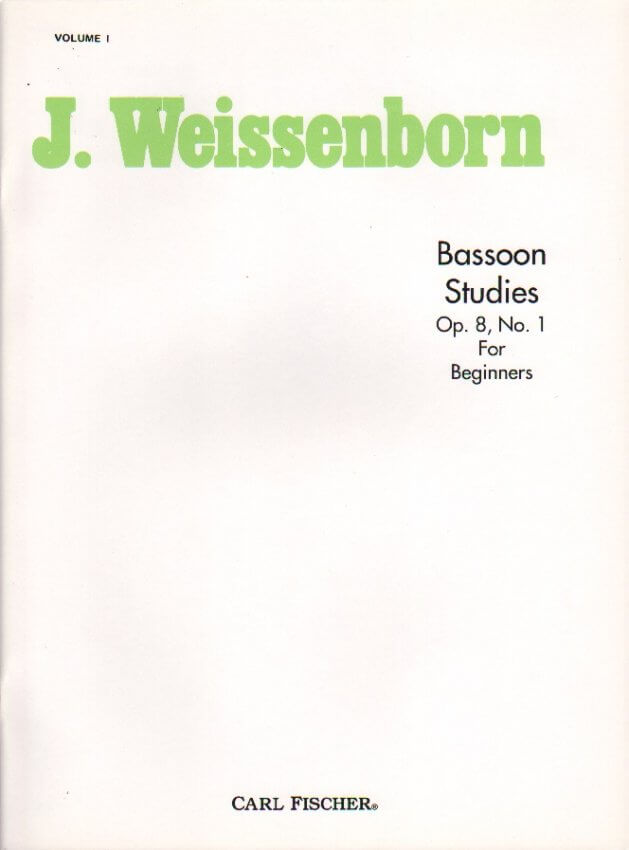 Studies for Beginners Op. 8 No. 1 - Bassoon