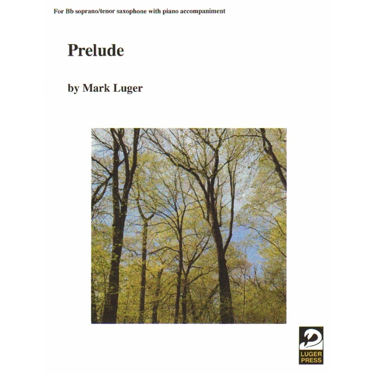 Prelude - Soprano (or Tenor) Sax and Piano