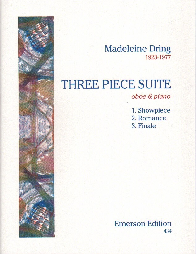 3 Piece Suite - Oboe and Piano