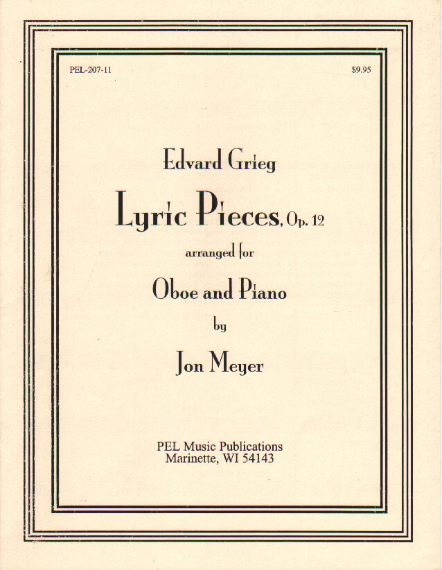 Lyric Pieces Op. 12 - Oboe and Piano
