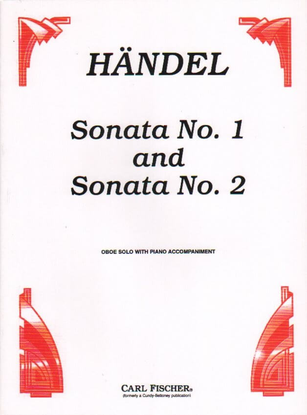 Sonatas Nos. 1 and 2 - Oboe and Piano