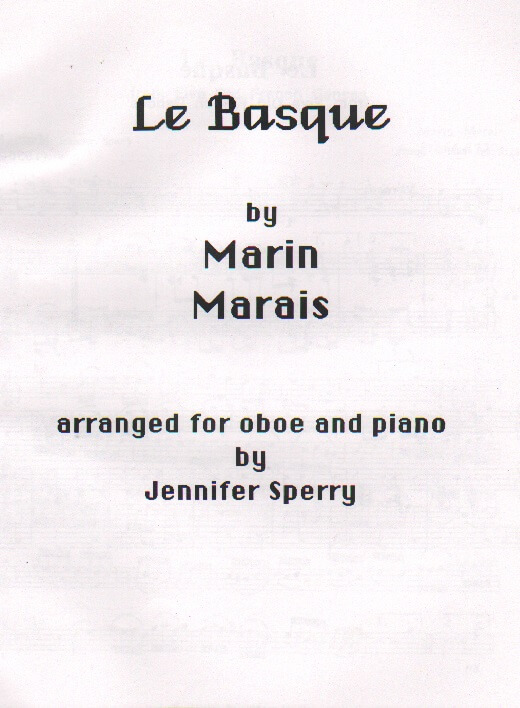 Le Basque - Oboe and Piano