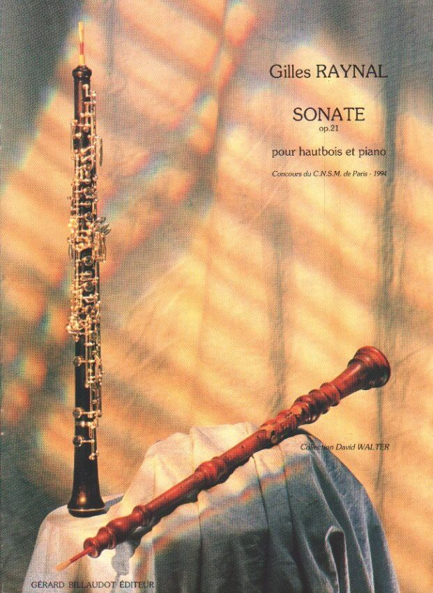 Sonate Op. 21 - Oboe and Piano