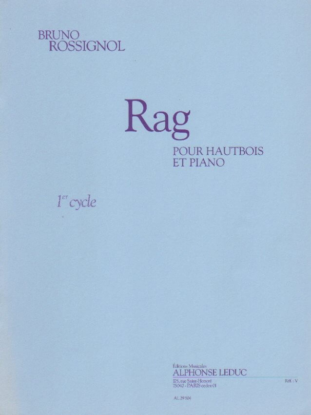 Rag - Oboe and Piano