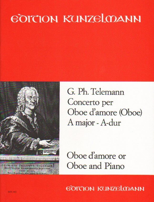 Concerto in A Major TWV 51:A2 - Oboe d'Amore (or Oboe) and Piano