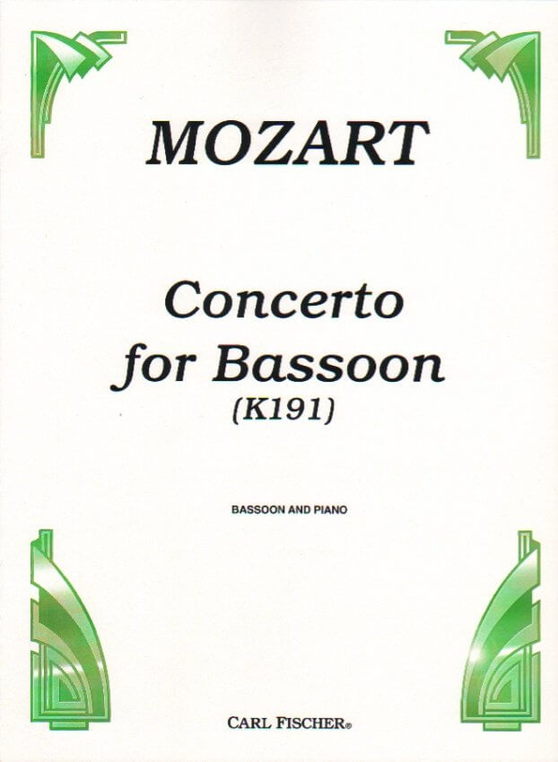 Concerto in B-flat Major, K. 191 - Bassoon and Piano