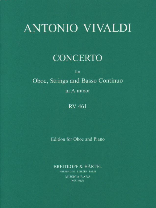 Concerto in A Minor RV 461 - Oboe and Piano