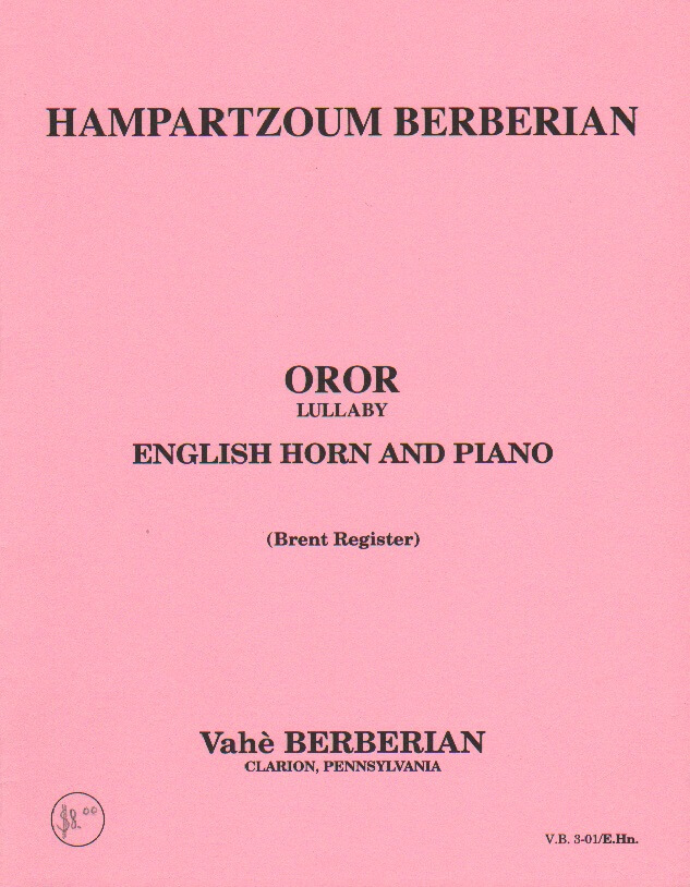 Oror (Lullaby) - English Horn and Piano