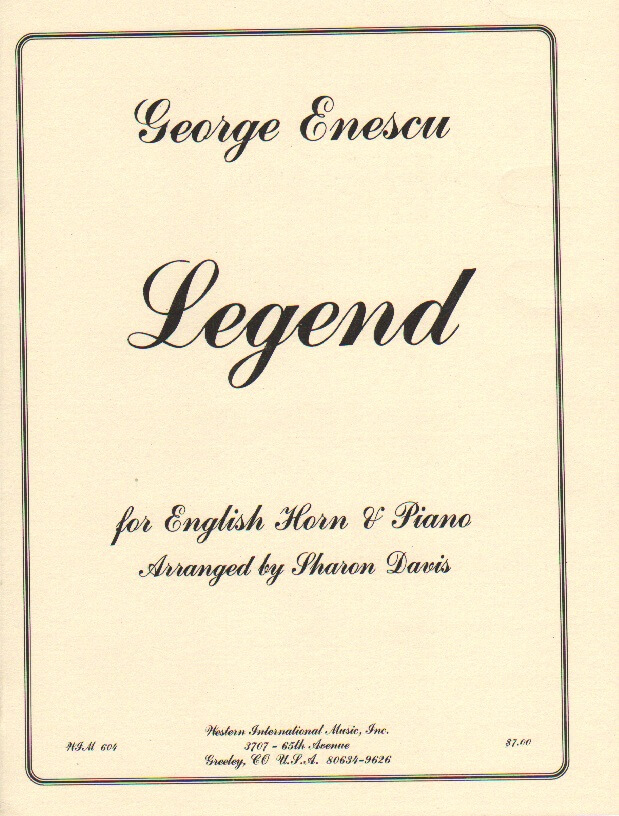 Legend - English Horn and Piano