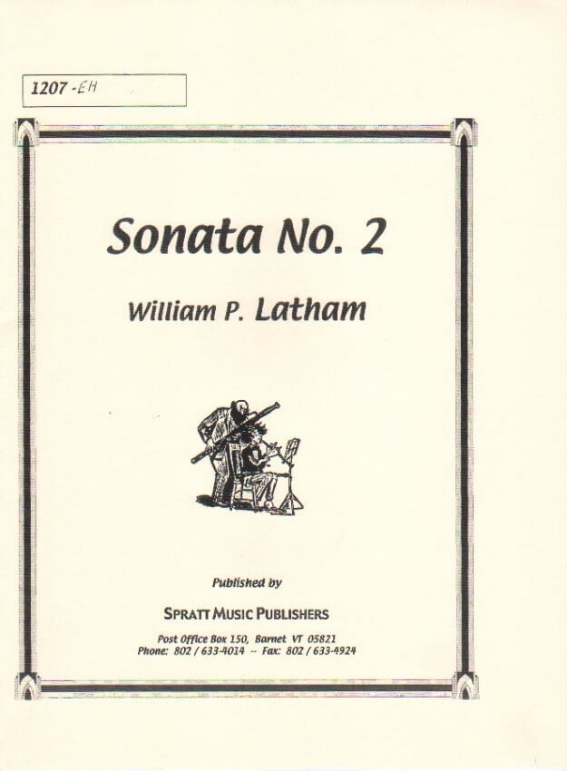 Sonata No. 2 - English Horn and Piano