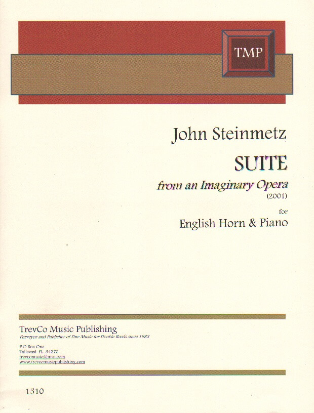Suite from an Imaginary Opera - English Horn and Piano