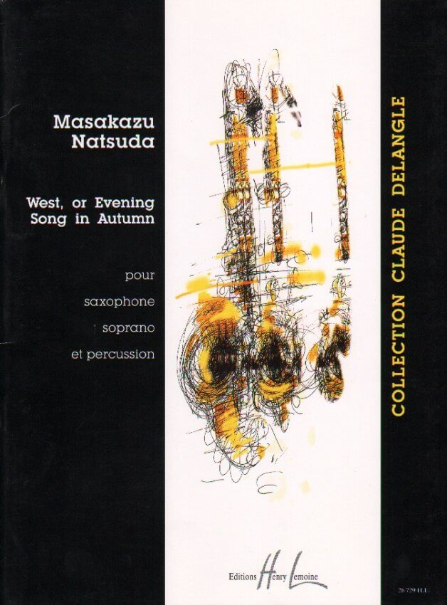 West, or Evening Song in Autumn - Soprano Sax and Percussion