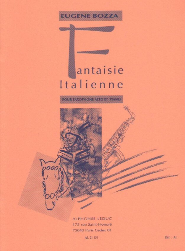Fantaisie Italienne - Alto Sax and Piano
