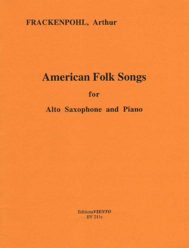 American Folk Songs - Alto Sax and Piano