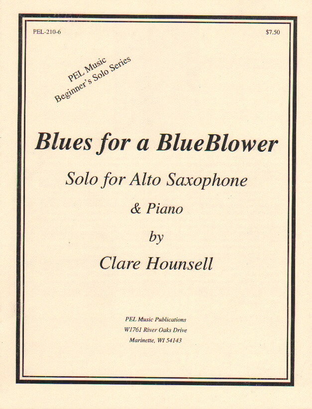 Blues for a BlueBlower - Alto Sax and Piano