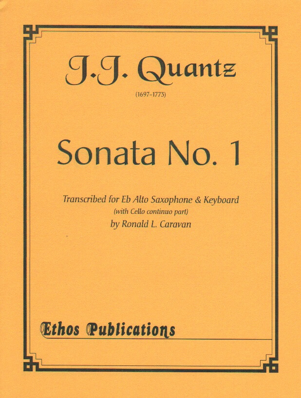 Sonata No. 1 - Alto Sax and Piano