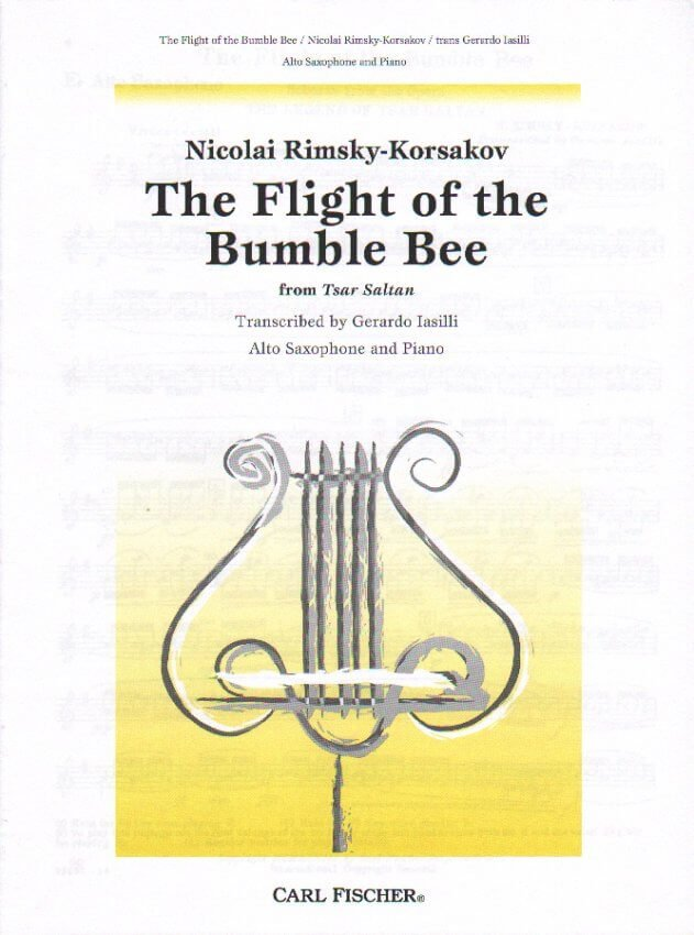Flight of the Bumble Bee - Alto Sax and Piano
