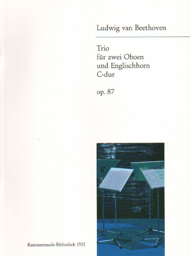 Trio in C Major Op. 87 - 2 Oboes and English Horn