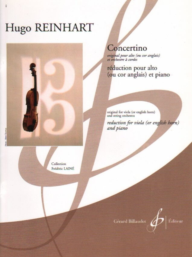 Concertino - Viola (or English Horn) and Piano