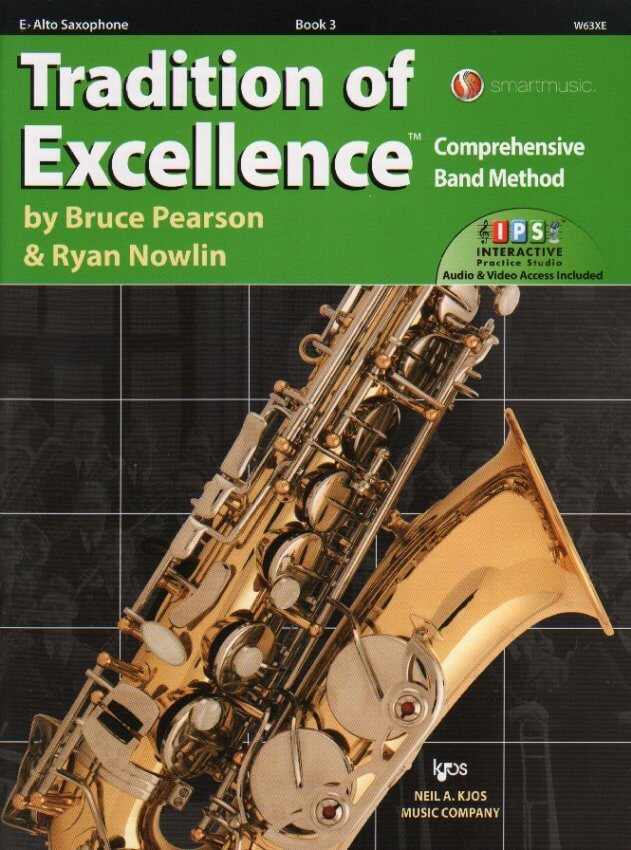 Tradition of Excellence, Book 3 - Alto Saxophone