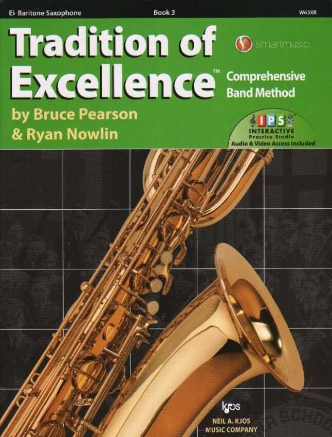 Tradition of Excellence, Book 3 - Baritone Saxophone