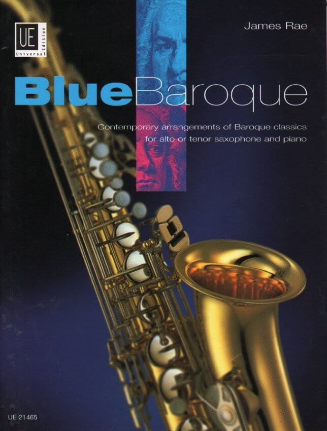 Blue Baroque - Alto (or Tenor) Sax and Piano